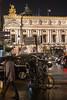Opéra Garnier le soir (2.5 m views ! https://society6.com) Tags: 17janvier2018 paris visite jsebouvi car opera house light street city evening night soir garnier architecture