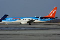 OO-JAV (Sunwing - TUIfly) (Steelhead 2010) Tags: sunwingairlines yhm tuifly boeing b737 b737800 ooreg oojav