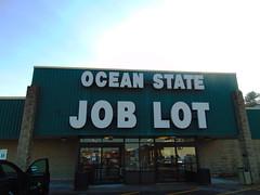 Ocean State Job Lot (Holyoke, Massachusetts) (jjbers) Tags: holyoke shopping center massachusetts january 21 2018 plaza ocean state job lot green old logo