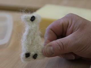 Schafwolllaufente