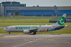 Transavia (FlyDubai) PH-HSR Boeing 737-8KN Winglets cn/40236-3110 leased 09. Jun 2017 - returned 01 Nov 2017 @ EHAM / AMS 11-09-2017 (Nabil Molinari Photography) Tags: transavia flydubai phhsr boeing 7378kn winglets cn402363110 leased 09 jun 2017 returned 01 nov eham ams 11092017
