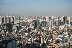 pancakes (matteroffactSH) Tags: seoul south korea southkorea gangnam district skyscrapers highrises asia dense density architecture urban cityscape vista skyline nikon d800 d800e aerial matteroffact andrew rochfort andrewrochfort