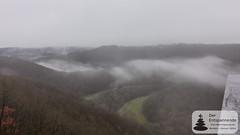 Panoramablick vom Skywalk Achterhöhe ins Siebenbachtal