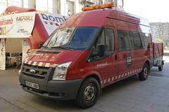 Bombers de Lleida (bleulights) Tags: bombers de lleida 30071 ford transit bomberos firefighters rescue feuerwehr vigili del fuoco pompiers suhiltzaileak straz pozarna