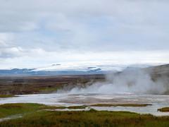 Hofsjökull (~janne) Tags: kamera berge e520 europa gewässer eis geysir hofsjökull island gletscher umwelt natur hveravellir geiser glacier icland wasser environment europe olympus water