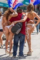 USA (corneliusreed) Tags: woman frombehind man naked desnudas lulu flickr timessquarearea newyork unitedstates us