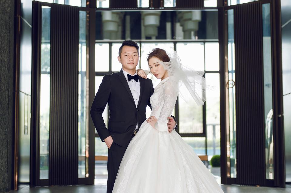 婚攝 高雄林皇宮 婚宴 時尚氣質新娘現身 S & R 093