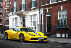 London calling. (David Clemente Photography) Tags: ferrari ferrari458 ferrari458speciale 458 458italia 458speciale speciale v8 specialeaperta londoncars carsoflondon supercarsoflondon supercars hypercars cars photography carspotting