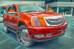 Candy Orange Cadillac Escalade Donk (C&C of the Upstate) (@CarShowShooter) Tags: beaconhill geo:lat=3486100115 geo:lon=8225764006 geotagged greer southcarolina unitedstates usa automotivephotography automotiveportrait cc cadillac cadillacescalade cadillacescaladedonk candyorange candyorangecadillacescalade carlifestyle carphotography carportrait carscoffee carscoffeeoftheupstate carsandcoffee carsandcoffeeoftheupstate clean coche customculture customvehicle donk donked escaladedonk forgiato forgiatoenzo forgiatowheels greenville greenvillecarscoffee greenvillesc greenvillesouthcarolina httpsforgiatocom kustom kustomkulture kustomvehicle michelinnorthamericaheadquarters pelhamroad sc suv upstate upstatesouthcarolina vehicle véhicule vehículo vendimia voiture worldcars