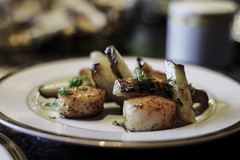 S a i n t J a c q u e s (maximedevreese) Tags: food dinner saintjacques jerusalemartichoke foodporn