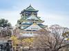 Osaka Castle, Japan (TeunJanssen) Tags: 45mm osaka castle japan asia spring hdr olympus travel traveling backpacking omd omdem10 worldtrip worldheritage