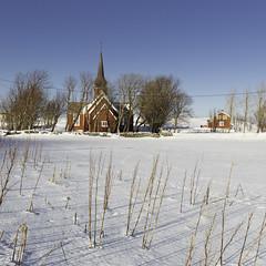 The church in the snow - Flakstad (Christian Wilt) Tags: flakstad nordland norvège no norway lofoten church arctic arcticcircle