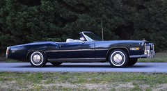 1975 Cadillac Eldorado convertible (Custom_Cab) Tags: 1975 cadillac eldorado convertible blue car