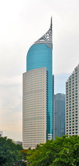 Wisma 46 (That's not the way Debbigail depicted (using album) Tags: jakarta building gedung architecture arsitektur office kantor