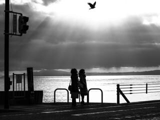Girls in Kamakura