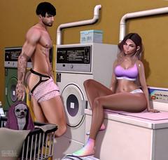 . Kiim&EohB . #Catwa #Straydog #Modulus #Belleza #Reckless #SM #Noche #TaketomiWEST #HollyMill #PinkFuel #SU #RustRepublic (Crayolas Clothes) Tags: catwa straydog modulus belleza reckless sm noche taketomiwest hollymill pink fuel su rustrepublic couple couplegoals goals maitreya laundry chico girl gurl lady tanning men man dude buddy sl slfashion slblogger secondlife secondlifefashion secondlifefashionblogger avatar 2018 night yellow undies boxers bralet panties jockstrap strap