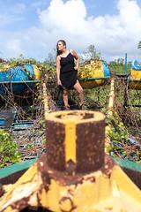 IMG_0507 (Gravekeeper) Tags: model modeling female woman femalemodel brunette sexy beautiful photography urbex urbexmodeling urbanexploration abandoned abandonedpark puertorico canon canon80d eoscanon80d