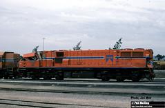 J599 DB1584 Collision damage (RailWA) Tags: railwa joemoir philmelling westrail db1584 collision damage