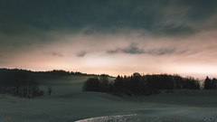 Assev, Froland (Øyvind Bjerkholt (Thanks for 54 million+ views)) Tags: winter snow cold nature clouds dreamy nocturne night assev froland norway canon beautiful longexposure