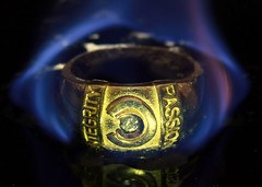 Ring of House Kla (GS_Imagery) Tags: flame jewellery ring lessthananinch macromondays