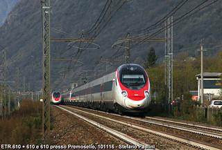 Meeting on the Simplon line