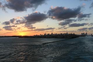 Leaving Port Miami