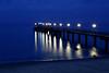 Stars (Rainer D) Tags: sky water bridge sunset sea pier