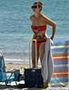 SeasideTattoo (Hodd1350) Tags: poole sandbanks dorset tattoo beach sea seawater bikini sunglasses shades woman female windbreak beachchair case sony sonyfe70300 sonylens a7rll sand