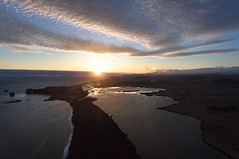 Iceland sunset (Chris Herzog) Tags: ifttt 500px landscape sunrise sea sunset water nature sun coast twilight aerial horizon shore seascape dawn photography dusk dramatic sky daybreak explore discover over inlet moody drone bird view iceland luftaufnahme