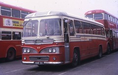 VHE211 (21c101) Tags: vhe211 yorkshiretraction 117 leyland burlingham leylandleopard psuc12 barnsley busstation 1969 1961