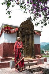 Bindyabasini Temple (yemaria) Tags: nepal pokhara hindu hinduism bindyabasinitemple granny nikkor nikond800e yemaria