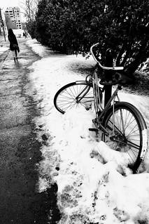 S'éloigner de l'hiver...