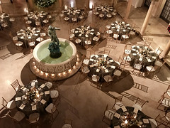 The Patio at Archmere Academy Pictures (jscottcatering) Tags: thepatioatarchmereacademy campliphotography landscape venue setup tablesettings fountain