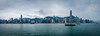 Hong Kong Panorama (fredrik.gattan) Tags: hk hong kong panorama china skyline skyscrapers city cityscape metropol mountains landscape handheld stich ferrys boats sky clouds water waterfront highrise star ferry kowloon