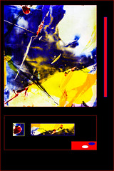THREE (SK Monos) Tags: contemporary abstract stainedglass france creative experiment artistic modernart colours vibrant