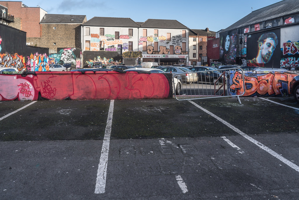 STREET ART AT THE TIVOLI CAR PARK IN DUBLIN [LAST CHANCE BEFORE THE SITE IS REDEVELOPED]-135632