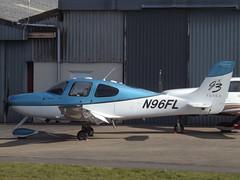 N96FL Cirrus SR22T Private (Aircaft @ Gloucestershire Airport By James) Tags: gloucestershire airport n96fl cirrus sr22t private egbj james lloyds