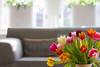 19/50 project 50 mm (Thea Teijgeler) Tags: flowers tulips tulpen kleurrijk home bloemen