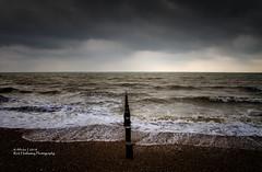Bognor Beach (rhfo2o - rick hathaway photography) Tags: rhfo2o canon canoneos7d bognorregis westsussex beach sea seaside waves groyne horizon clouds light stormy