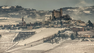 Langhe: vineyards and castles