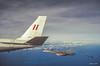 AAR over the Great Barrier Reef (i-lenticularis) Tags: a21627 b707tanker fa18hornet minoltadimagescandualiv pentaxz1 raaf slidefilm refuelling greatbarrierreef aar
