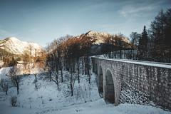 Berchtesgaden, Germany (Sunny Herzinger) Tags: herkunft watzmann fujixpro2 winter berchtesgaden bridge europa alps nationalpark xf14mmf28 hintersee bavaria ramsau bayern dedeutschland snow ramsaubeiberchtesgaden germany de