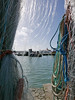 Sunday on Poole Quay (auroradawn61) Tags: poolequay poole dorset uk england march spring sunday 2018 lumixlx100 coast southcoast fishingnets sea ropes