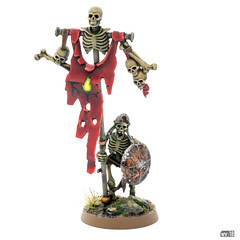 Skeletons: Standard bearer