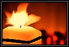 """Dancing Flame..."" -- MACRO MONDAYS - 29.1.18 - ""Flame"" (NikonShutterBug1) Tags: macro closeup nikond7100 macromondays spe smartphotoeditor tamron60mmmacro flame fire candle longexposure 7dwf sundaylights"