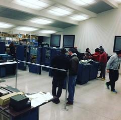 Visitors for our GE-120 #generalelectric #olivetti #honeywell #nerd #instanerd @verdebinario (Museo dell'Informatica Funzionante) Tags: musif miai freaknet dyneorg trasformatorio
