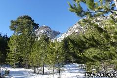 Corsica frozen lake Asco (3) (Eric Lon) Tags: corsica corse france island ile mountains montagne meretmontagne mareimonti pine pin laricio neige snow lac lake bath bain ice glace trek trekking ericlon