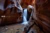 Kenera Creek Falls 1 (Wizum) Tags: blue utah waterfall southernutah hike hiking slotcanyon canyon kaneracreekfalls 2018 landscape nature wideangle photomatix hdr