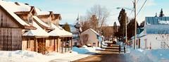 Village de St-Alphonse Rodriguez , Québec. (nicoleforget) Tags: église anciennes maisons lumière hommes 2