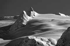 French alps Snowscape (eichlera) Tags: snow mountains alps france lathuile winter sky